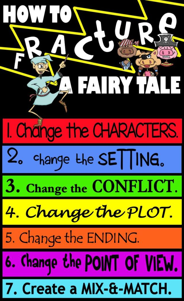 How to fracture a fairy tale-writing & teaching fractured fairy tales