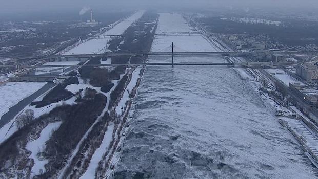 Photo of AUSTRIJA U MINUSU: Zaledio se Dunav u Beču!