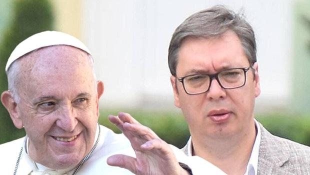 Photo of NA MOLITVU KOD PAPE: Vučić danas u Vatikanu sastaje sa papom Franjom