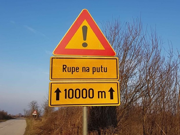 Photo of NE, NIJE FOTOMONTAŽA: Opština Veliko Gradište rešila problem udarnih rupa pred izbore!