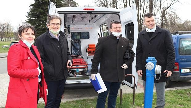 Photo of DONACIJA DRŽAVE: Centar za socijalni rad u Kučevu dobilo novo sanitetsko vozilo