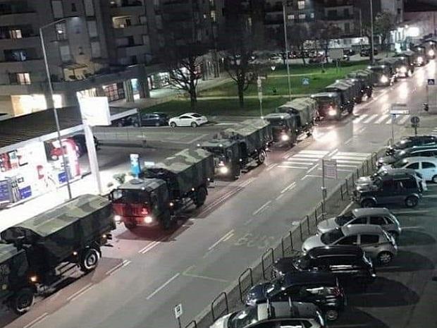 Photo of MINUT ĆUTANJA ZA NAJTUŽNIJU KOLONU U ITALIJI: Vojni konvoj odvozi preminule od korone na kremaciju (VIDEO)