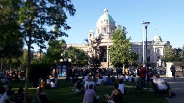 Photo of Počelo okupljanje građana u Beogradu i širom Srbije