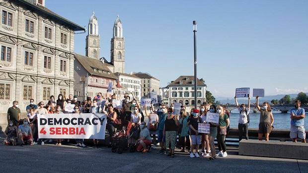 Photo of ŠIROM PLANETE: Održan prvi globalni protest dijaspore protiv režima Aleksandra Vučića (VIDEO)