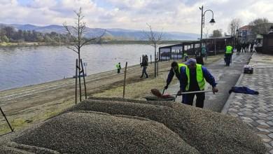 Photo of PRIPREMA ZA TURISTIČKU SEZONU: Čelnici Velikog Gradišta u obilazak radova na uređenju plaže na Srebrnom jezeru