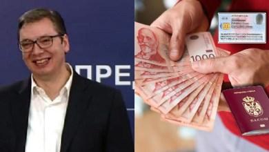 Photo of OPET NAS ZAJ*BA VUČIĆ: 60 evra za gospodina i gospođu, taman za promenu dokumenata