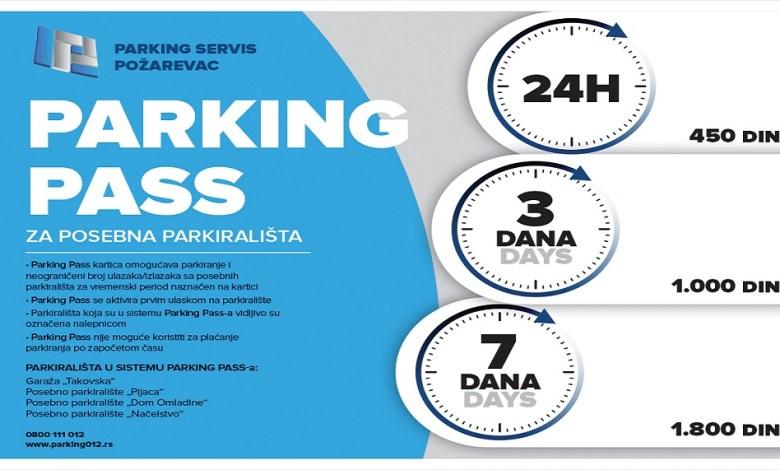 "Photo of ""PARKING PASS"" KARTICE: Nova usluga JKP ""Parking servis"" Požarevac"