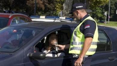 "Photo of VOZAČI, OPREZ! Od danas počeo ""lov"" na pijane i drogirane vozače svim sredstvima"