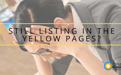 Still Listing in the Yellow Pages in 2018?