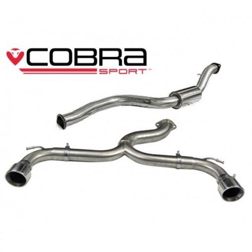 Echappement COBRA Sport pour FORD Focus ST 225 (MK2) apres
