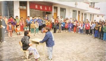 第一次安排學生前往國內 (廣西省)進行文化交流。