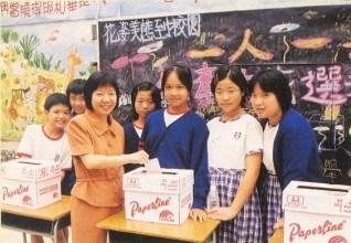 第一次舉辦全校「一人一票」選舉,促進公民教育。