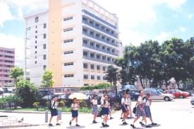 校舍新翼啟用。(2002/2003學年)
