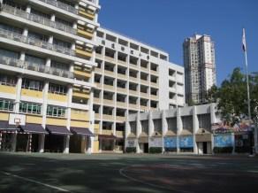 校舍-新翼、課室、禮堂