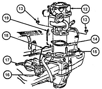 1967-69 Firebird 6 cyl. 1 & 4 Barrel Carburetors