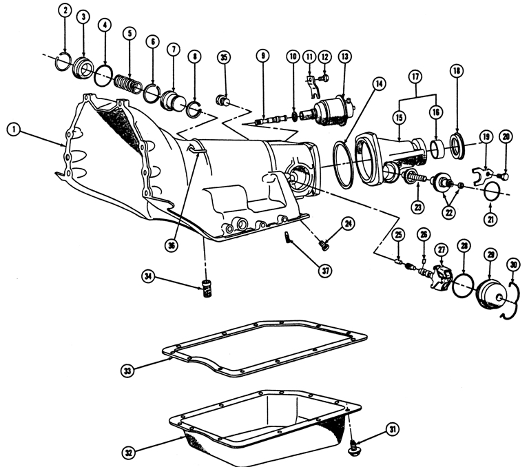Chevy Turbo 400 Transmission Wiring Diagram