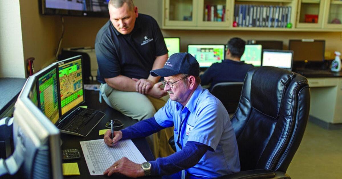 Kentucky Water Operator Doug Brooks Puts  Treatment Plant Operator