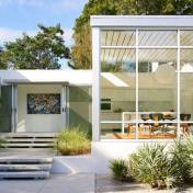 White TPO Roof on a Modern House