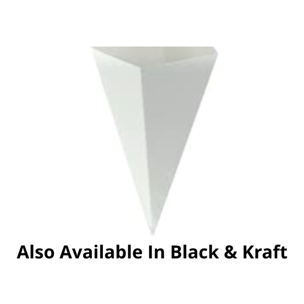Plain Cone Packs - 100 Pieces
