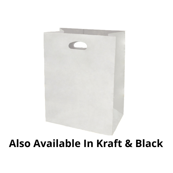 Customized Die Cut Handle Paper Bags - 1000 Pieces