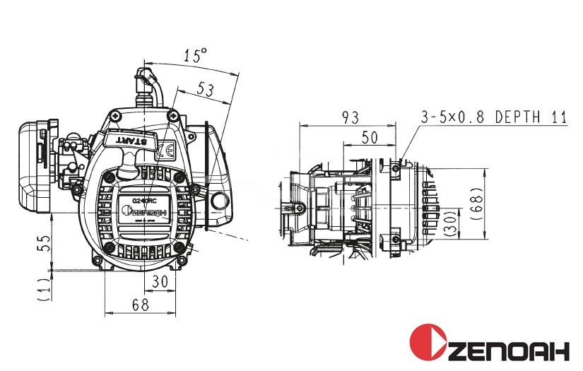 ZENG320F3/RR2 Zenoah G320 Falcon3 Tuning RR2