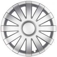 wieldoppen 13 inch Agat | silver