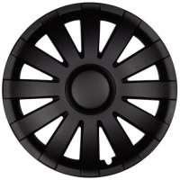 wieldoppen 14 inch Agat | zwart