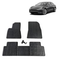 Rubbermatten Tesla