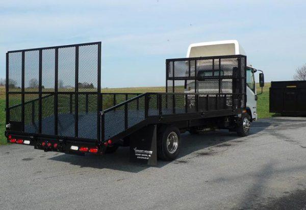 landscape truck bodies aluminum