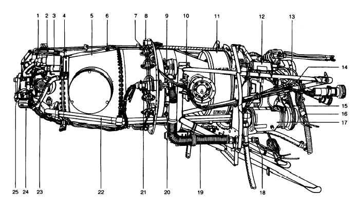 Figure 2-11. PT6A-41 Engine (Sheet 1 of 2)