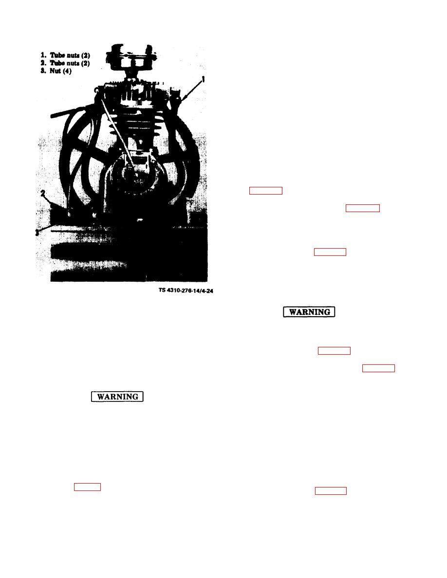 Figure 4-24. Intercooler, aftercooler and compressor
