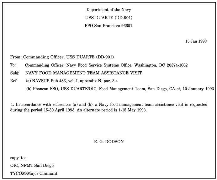 Sample Letter Of Application For Navy Officer