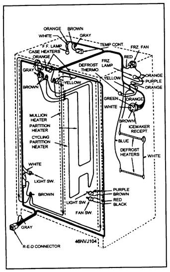 Schematic Wiring Diagram Of A Refrigerator : 42 Wiring