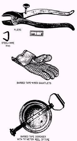 Barbed-steel tape