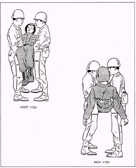 Two-Man Saddleback Carry
