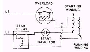 Wiring Diagram For Single Phase Motor With Capacitor Start