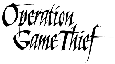 Operation Game Thief Logo — Texas Parks & Wildlife Department