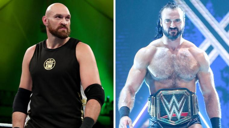 Tyson Fury Says He Was Supposed to Wrestle Drew McIntyre at a WWE PPV in the UK – TPWW