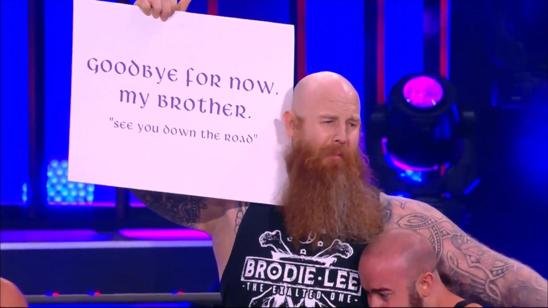 Erick Rowan Appears on AEW Dynamite Brodie Lee Tribute Show – TPWW