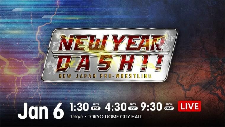 NJPW New Year Dash 2021 Results – Jan. 6, 2021 – LIJ vs. SHO, Romero, Wato, Tanahashi, & Ibushi – TPWW