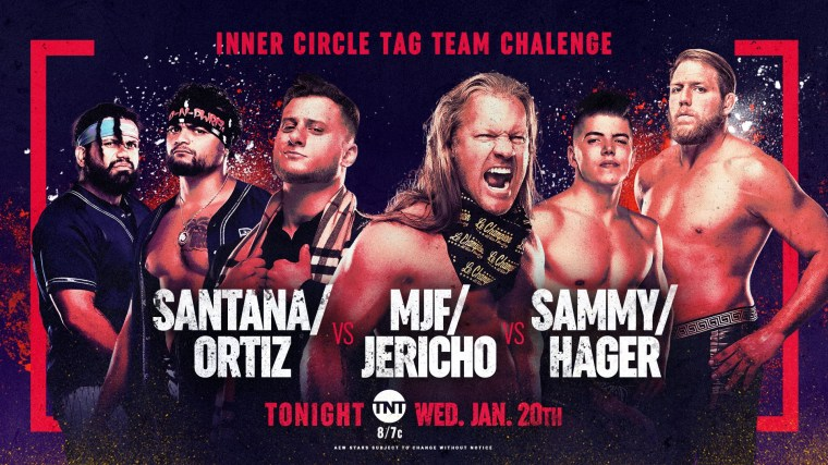 AEW Dynamite Results – Jan. 20, 2021 – Inner Circle Tag Team Challenge – TPWW