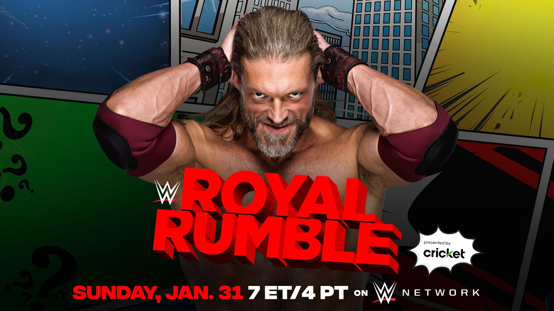 Edge and Three Others Announced for the Royal Rumble + New Match – TPWW