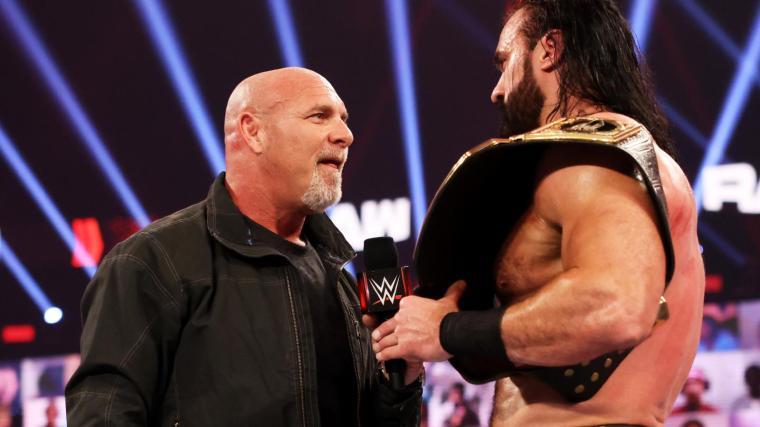 When WWE Decided on Goldberg vs. McIntyre, Final Raw Segment Cut Short, More Raw Notes – TPWW