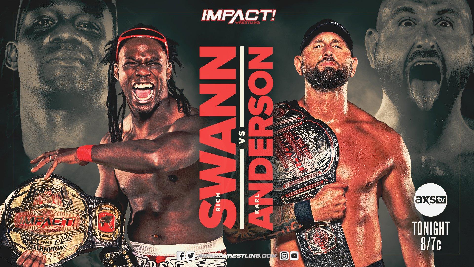 Impact Results – Jan. 12, 2020 – Rich Swann vs. Karl Anderson – TPWW