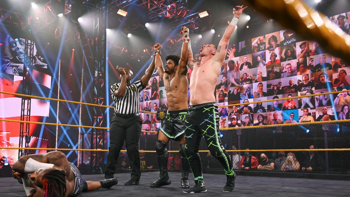 The Rascalz Debut in NXT With New Names – TPWW