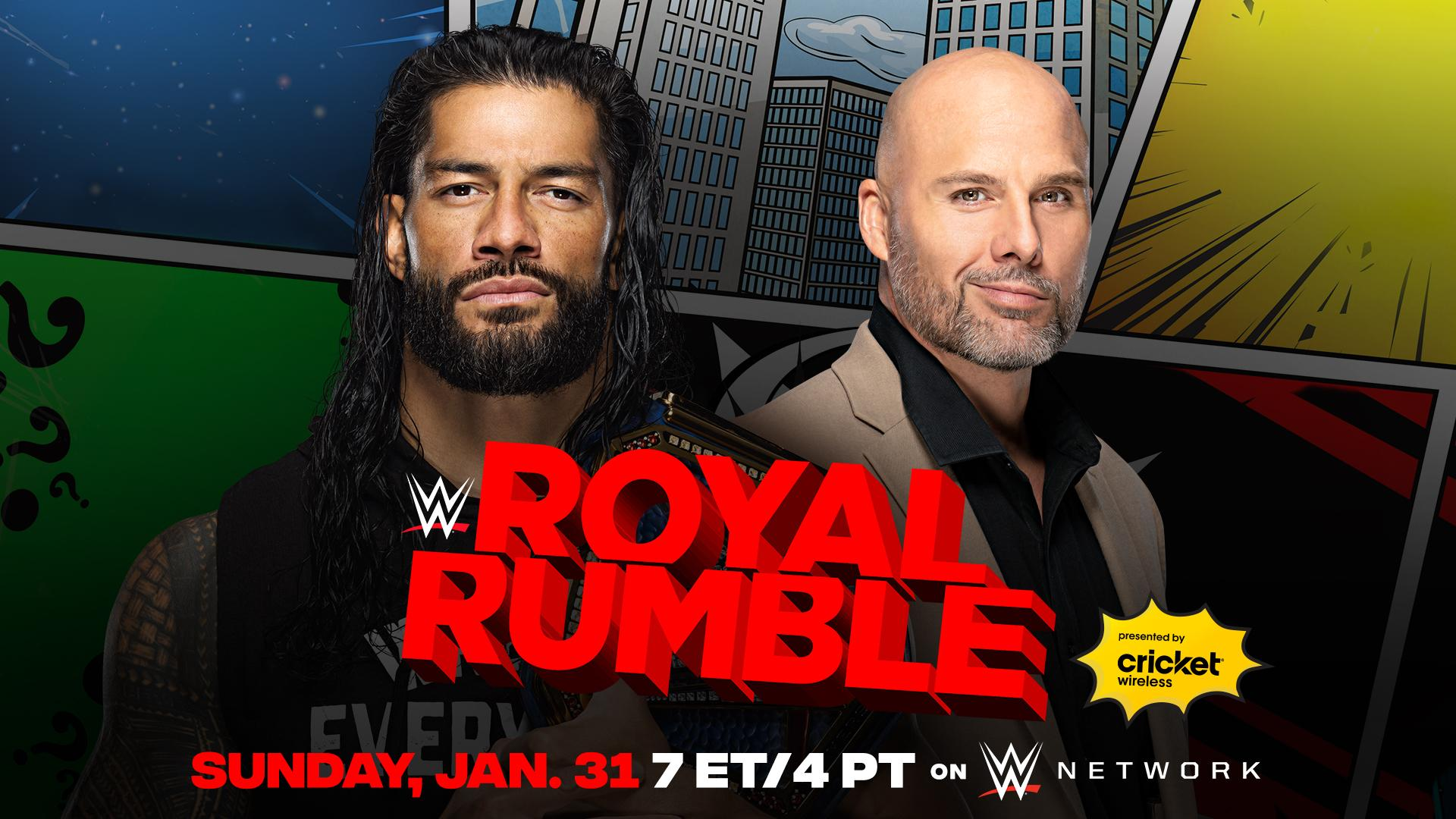 Current WWE Royal Rumble Card and Announced Participants – TPWW