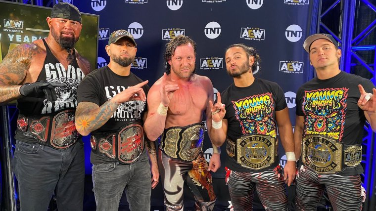 Gallows & Anderson Appear on Dynamite, Align With Omega & The Young Bucks – TPWW