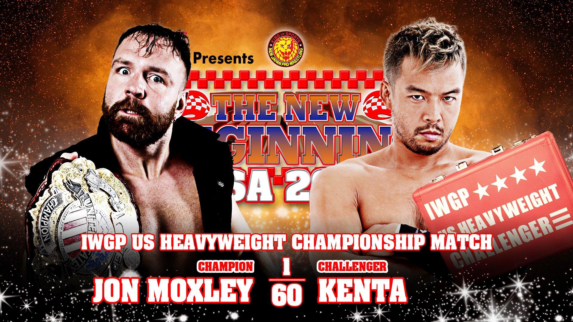 Did Jon Moxley Retain the IWGP US Title Against KENTA? – TPWW