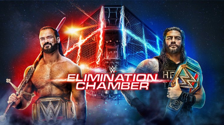 WWE Elimination Chamber Results – Feb. 21, 2021 – TPWW
