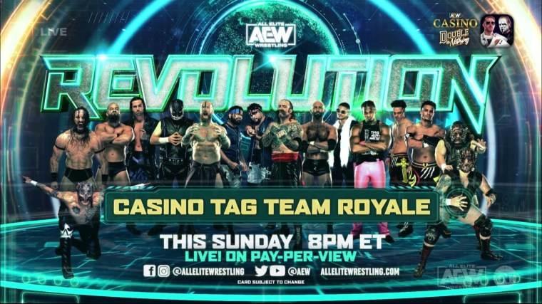 Eight More Teams Added to AEW Casino Tag Team Royale – TPWW